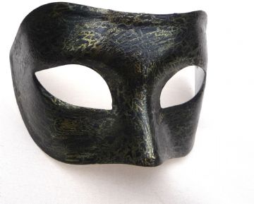Genuine Venetian Antique Look Gold Mask